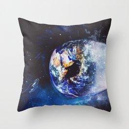 EarthEye by GEN Z Throw Pillow