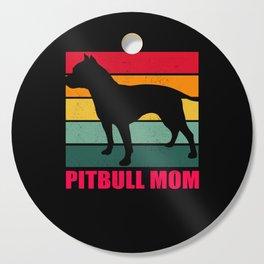 American Pit Bull Terrier Pitbull Mom Cutting Board