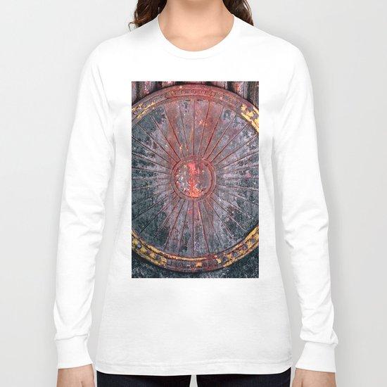 Circle vintage Long Sleeve T-shirt