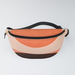 Abstraction_Sunrise_Minimal_002 Fanny Pack