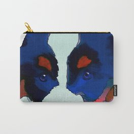 Colorful Puppy Art Carry-All Pouch
