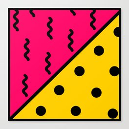 PopArt Pattern Canvas Print