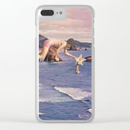 Starfishing Clear iPhone Case