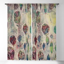 Spring Showers Blackout Curtain