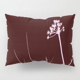 SEA PLANTS PURPURE&BROWN Pillow Sham