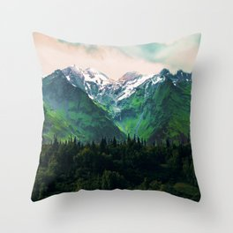 Escaping from woodland heights IV Throw Pillow