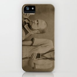 Wet plate of the modern age iPhone Case