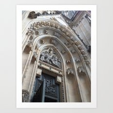 The Prague Castle Art Print