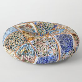 Oh Gaudi! Floor Pillow