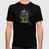 Input, Lost in Wonder, Lost in Love, Lost in Praise, forevermore  Black MEDIUM Mens Fitted Tee