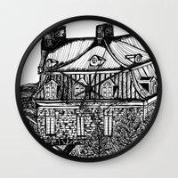 copenhagen Wall Clocks featuring Copenhagen by intermittentdreamscapes