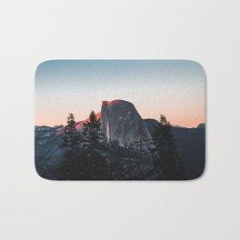 Last Light at Yosemite National Park Bath Mat