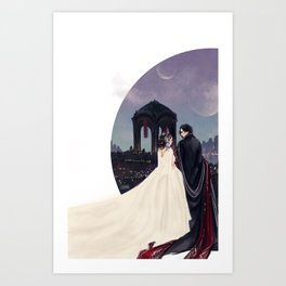 Empire Reylo Art Print