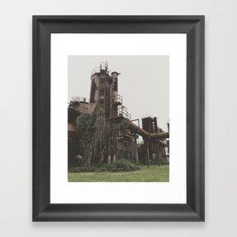 Draped Framed Art Print