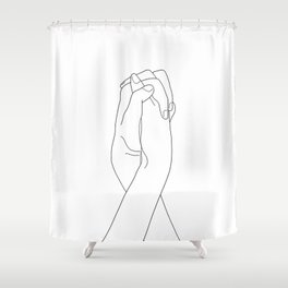 Never Let Me Go II Shower Curtain