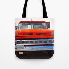 Orange Americana Tote Bag