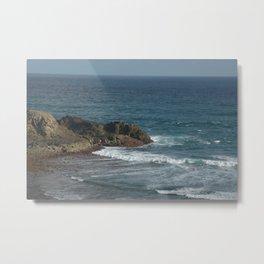 Kuta Beach Lombok Metal Print