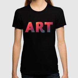 Art, minimalist typography, minimalist illustration, colorful, inspiring wall ar, inspirational word T-shirt