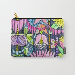 Pink Rain Forest Carry-All Pouch