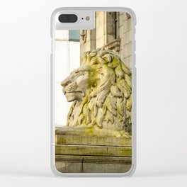 Vancouver Art Gallery Lion Clear iPhone Case