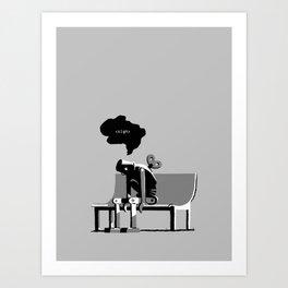 Robot Blues Art Print