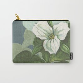 Provincial Flowers - Ontario Carry-All Pouch