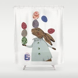 Hare-y Adventures 2 Shower Curtain