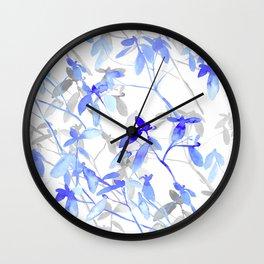 Premonition (Blue Grey) Wall Clock