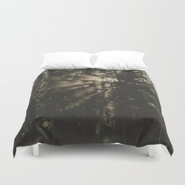 Sunset in the Woods - Nature Photography Duvet Cover