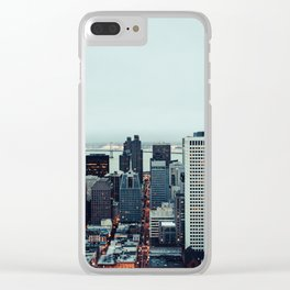 San Francisco Financial District Clear iPhone Case