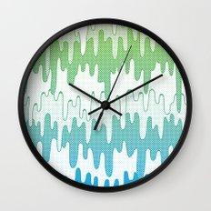 Trippy Drippys Wall Clock