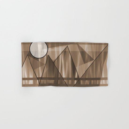 Sepia Landscape Hand & Bath Towel