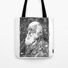 'Darwin' by Sarah King Tote Bag