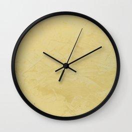 Tuscan Sun Stucco - Rustic Glam Wall Clock