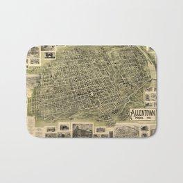 Map Of Alexandria 1862 Bath Mat