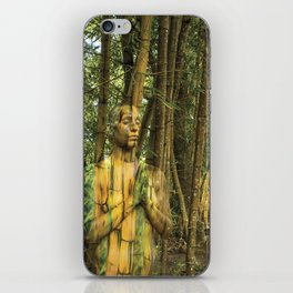 Bamboo Goddess iPhone Skin