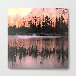 Sunset Impressions Metal Print