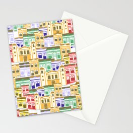 Houses of Brazilian Carnival Stationery Cards
