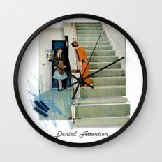 Denied Attention Wall Clock