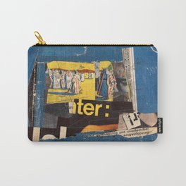 fundamental blue Carry-All Pouch
