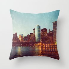 When the Lights Go Out Throw Pillow