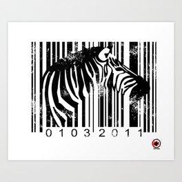Code Z Art Print