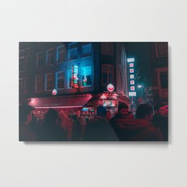 Old Sailor Amsterdam / Bladerunner Vibes Metal Print