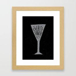 James Bond Framed Art Print