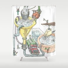 The Wonderful World of Water! Shower Curtain
