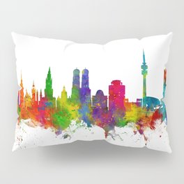 Munich Germany Skyline Pillow Sham