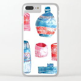 jugs Clear iPhone Case
