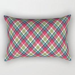 Plaid  9 Rectangular Pillow