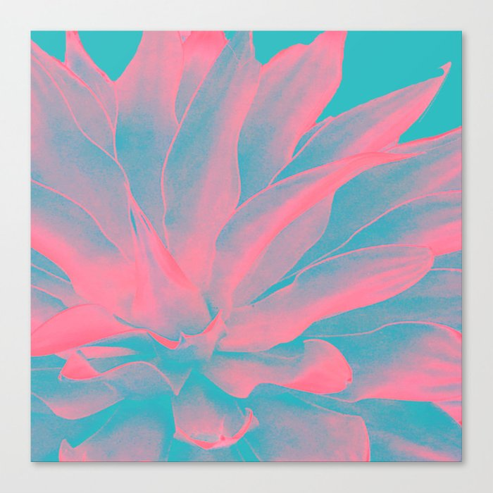 Abstract leaves Canvas Print
