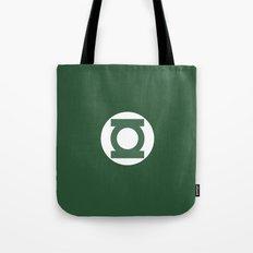 Green Lantern Vector Logo Tote Bag
